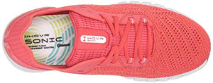 Under Armour Women's HOVR Sonic 2 Running Shoe, Daiquiri (600)/Apex Pink, 9.5