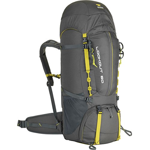 Mountainsmith Hiking Backpack, Asphalt Grey, 60 Liters