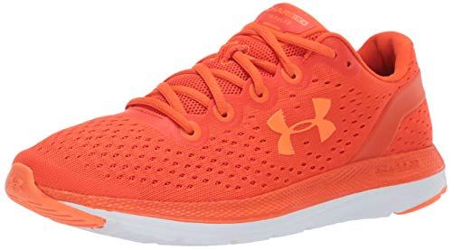 Under Armour Men's Charged Impulse Running Shoe, Ultra Orange (800)/White, 8