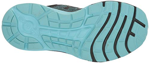 Under Armour Women's Charged Escape 3 Running Shoe, Black (004)/Blue Haze, 8.5