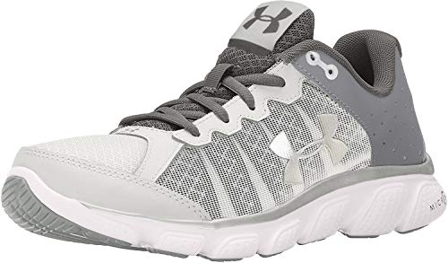 Under Armour Women's Micro G Assert 6 Running Shoes White/Metallic Silver