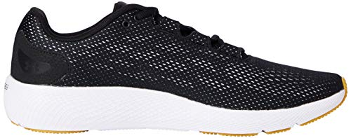 Under Armour Men's Charged Pursuit 2 Running Shoe, Black (005)/White, 7