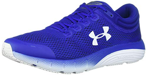 Under Armour Men's Charged Bandit 5 Running Shoe, Royal (401)/White, 7.5