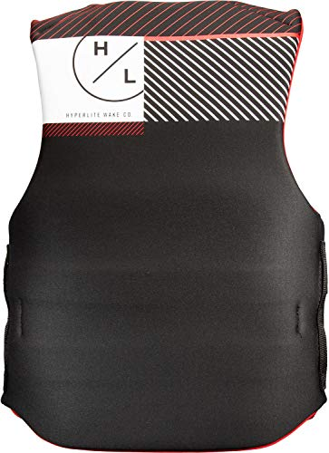 Hyperlite Indy CGA Wakeboard Vest Mens Sz M Black/Red
