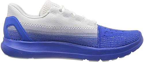 Under Armour Men's Running Jogging, Gym Shoes, White White Versa Blue Versa Blue 104 104, 44/45