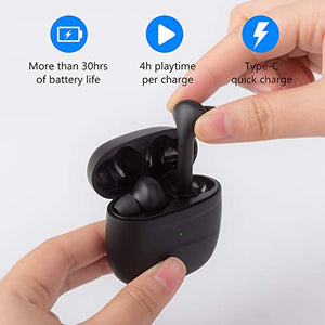 Ariperd Wireless Earbuds Wireless Headphones Bluetooth Earbuds Bluetooth Earphones, Bluetooth 5.0 Deep Bass Touch Control Waterproof CVC8.0 TWS Stereo in-Ear Headphones with Charging Case