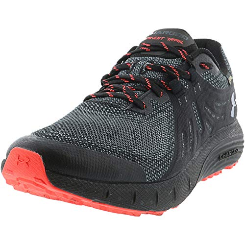 Under Armour Men's Charged Bandit Trail Gore-TEX Hiking Shoe, Black (001)/Wire, 11