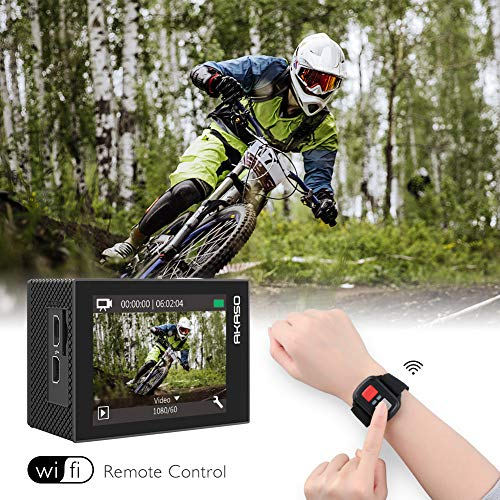 AKASO EK7000 Pro 4K Action Camera with Touch Screen EIS Adjustable View Angle Web Camera