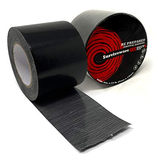 Surviveware Outdoor Duct Tape - Easy Tear for Camping and Travel Adventures