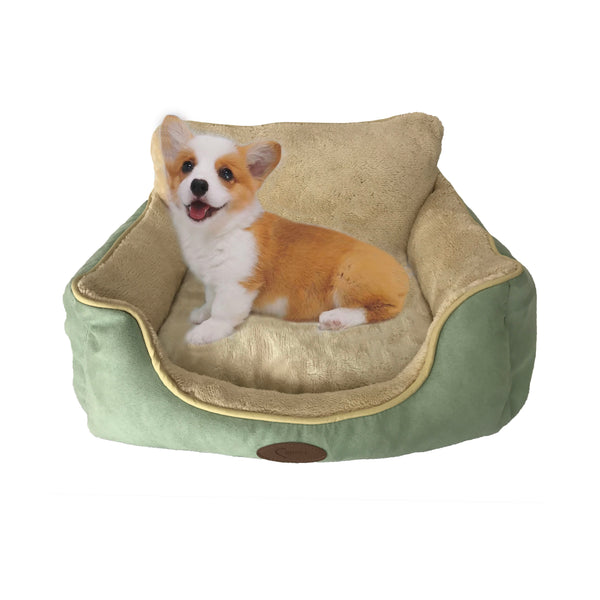 Luxury Pet Furniture Micro Suede PP Fiber Pet Bed Washable Dog And Cat Bed Pet