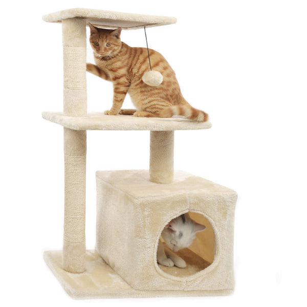 Easy Assemble Durable Cat Furniture Cat Condo Tree High Climbing