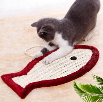Cat Toys For Scratching Pad Mat Rug Square Sisal Cat Scratcher