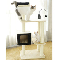 New Design Pet Products Modern Luxury Large Wood Cat Climbing Tower,Tree House For Cat,Cat Tower Tree
