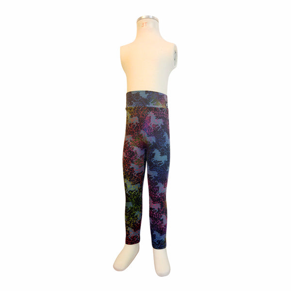 Unicorn Kids Leggings Kids Leggings - lineagewear