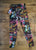 Watercolor Leggings Leggings - lineagewear