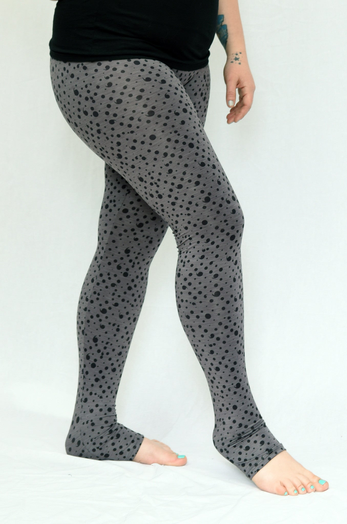 Keep Going Grey Leggings - lineagewear - 1