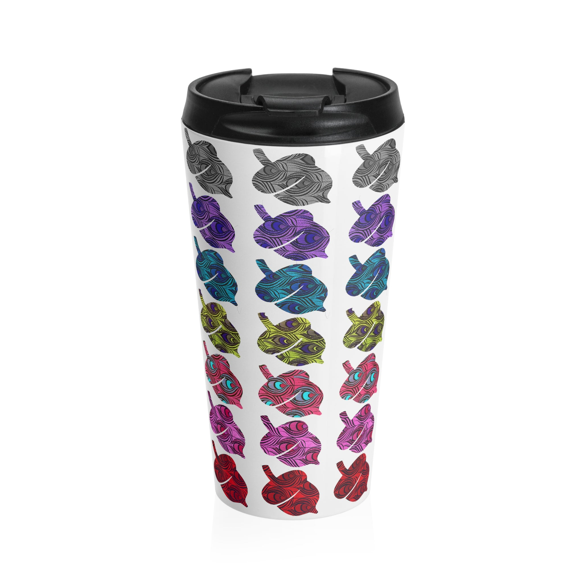 Logo Stainless Steel Travel Mug