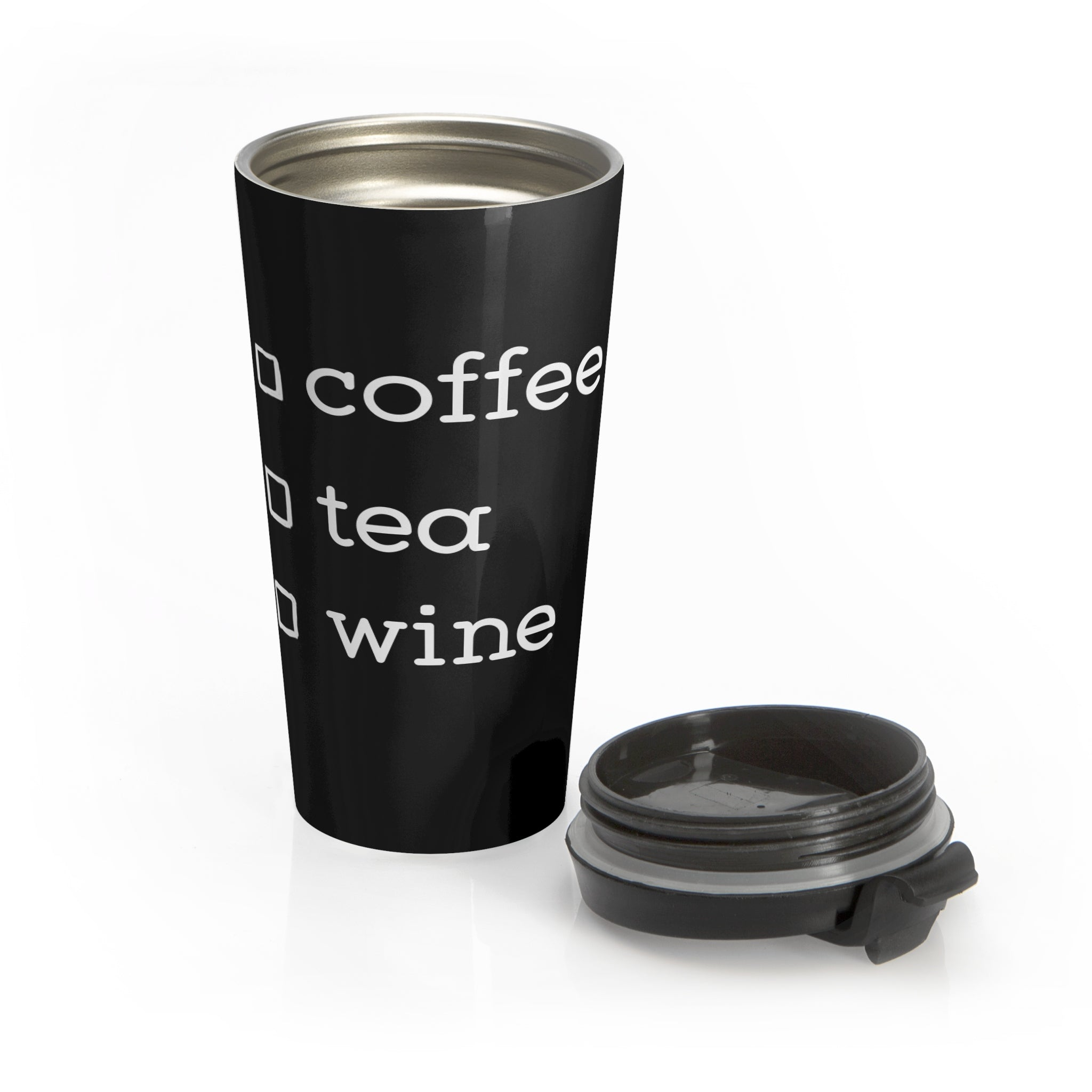 Coffee Tea Wine Stainless Steel Travel Mug