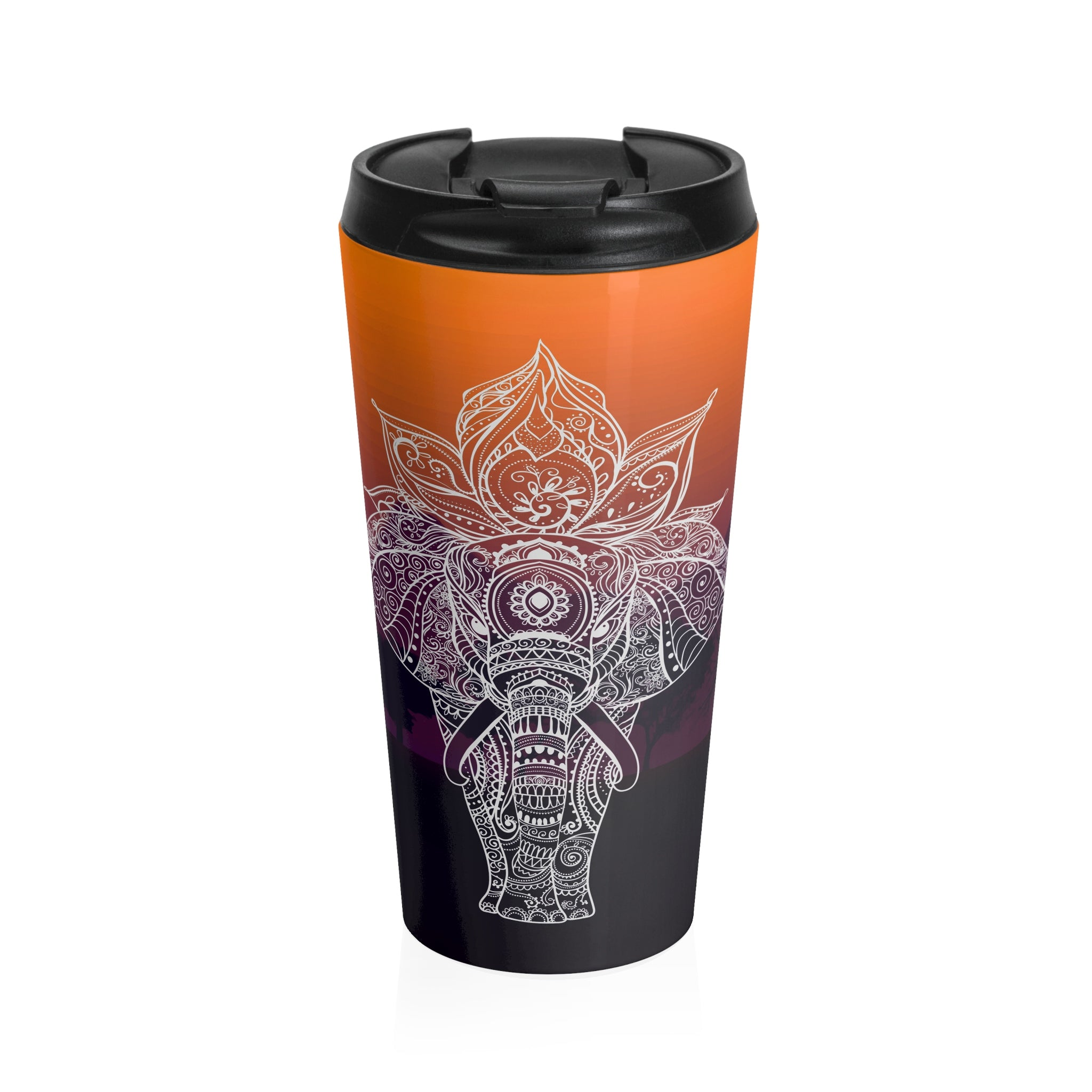 Elephant Stainless Steel Travel Mug