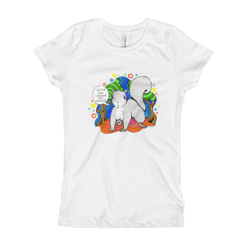 Super Squirrel Girls Tee