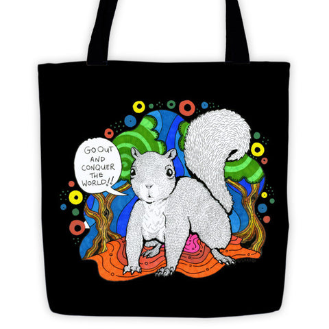 Super Squirrel Tote - lineagewear