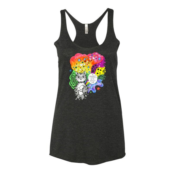 Motivational Cat Tank - lineagewear - 6