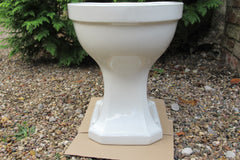 """Puritas"" Vintage 1950s Art Deco High Level Toilet - Johnson Brothers"