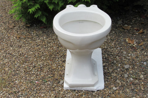 """Royal Venton"" Vintage 1945 Art Deco High Level Toilet"