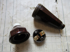 Art Deco Bakelite Electric Servants Bell Push