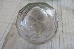 Antique Cut Glass High Level Toilet Cistern. Light Pull