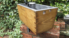 "Restored Wooden ""Harley"" High Level Toilet Cistern"