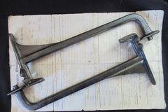 "13"" Dauntless Reclaimed & Restored Industrial Cast Iron Sink Brackets"
