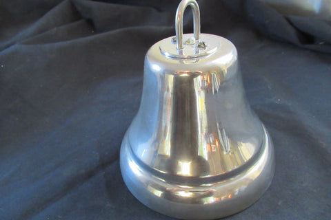 Vintage Chrome Hanging Door / Shop Bell - Self Contained 24v
