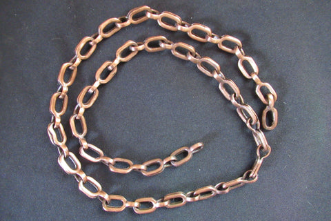 Chunky Antique Copper Chain ideal for Toilet or Light pull