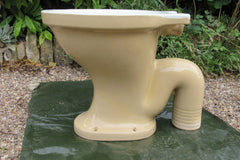 "Antique 1893 High Level Earthenware Cottage Toilet - "" The Swiftor"""
