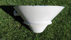 Victorian Blue and White Transfer Printed Thunderbox Toilet Bowl (2)