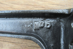 "10"" Reclaimed Industrial Cast Iron Shelf Brackets - Heavy Duty"