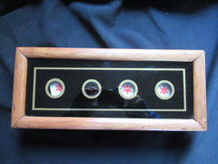 Plain Butlers or Servants Bell Box ~ 4 Point Indicator