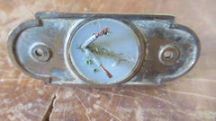 Vintage brass and China Electric Door Bell Push
