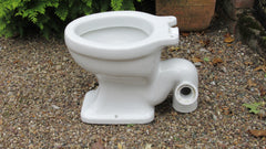 Vintage High Level Earthenware Toilet - 1944