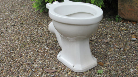Vintage 1930/50s Art Deco High Level Toilet - New Selecta