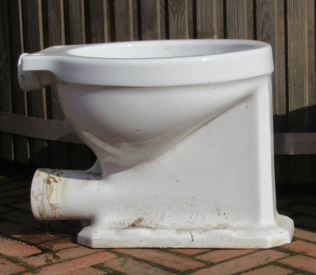 Vintage 1930/50s Art Deco High Level Toilet - Standard