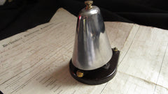 Single Strike Restored 1930s Bakelite Bell - Self Contained