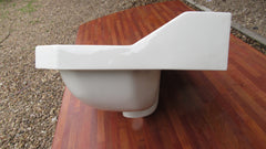 Vintage Art Deco Royal Doulton Wall Hung Bathroom Sink