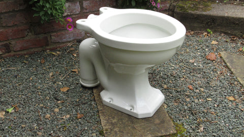 """Wansfell"" Vintage Art Deco High Level Toilet"
