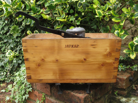 "Antique Wooden ""Japkap"" High Level Toilet Cistern - Plymouth"