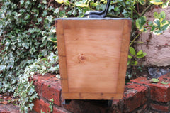 "1906 Restored Wooden High Level Toilet Cistern ""Japkap"" - Dual Flush"