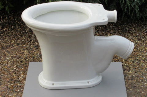 """Ozona"" - Antique High Level Toilet"