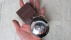 Small Vintage Boxed Cera Bakelite & Steel Electric Doorbell - 110v