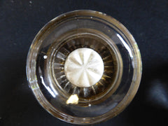 5 Pairs Art Deco Round Glass Door Knobs